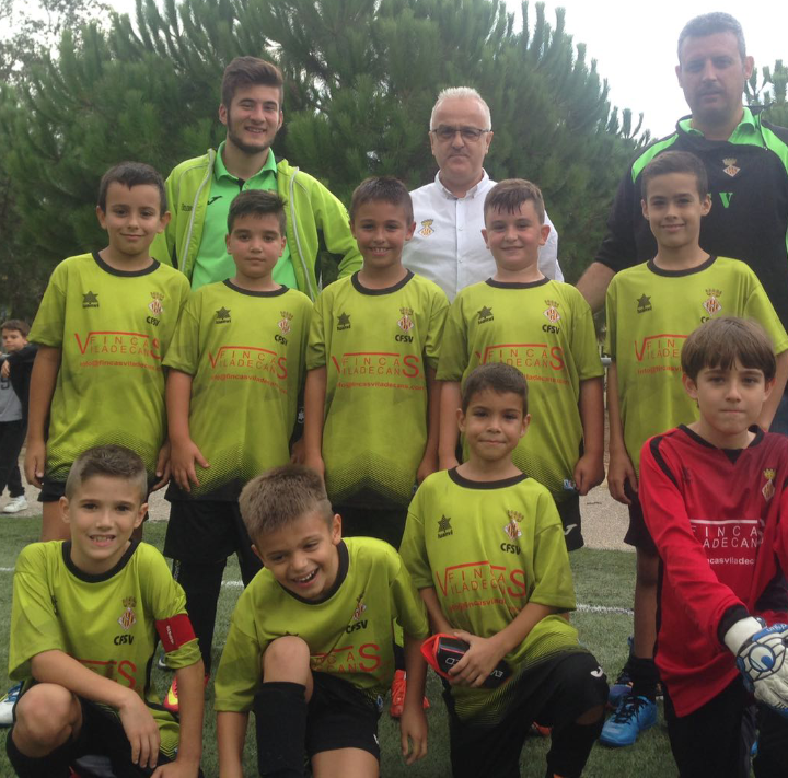 Esports futbol nova denominaci per al club futbol - Accura viladecans ...