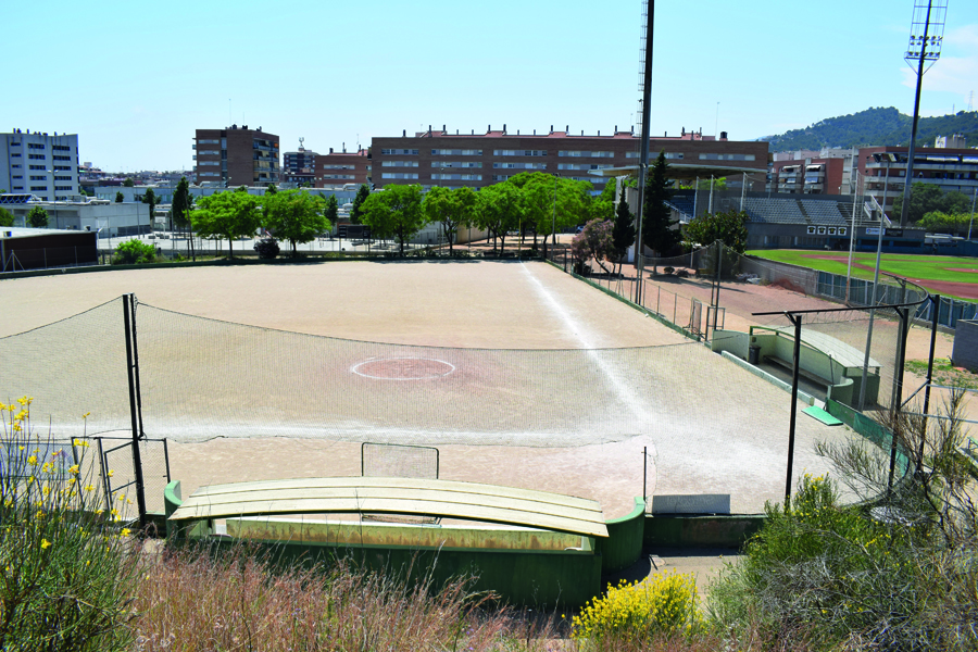 Actual camp de softbol de Viladecans