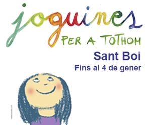 Joguines per a totom Sant Boi - 2018