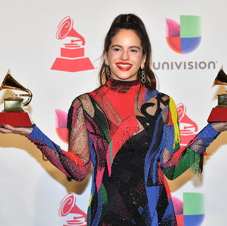 rosalia winner of best alternative song for malamente and news photo 1068169838 1542356527