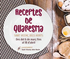 RECEPTES DE QUARESMA