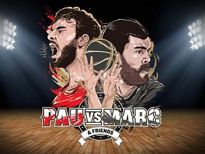 Pau i MarcGasol tornaran a repetir el salt inicial de l'All Star de l'NBA el 2015 a New York
